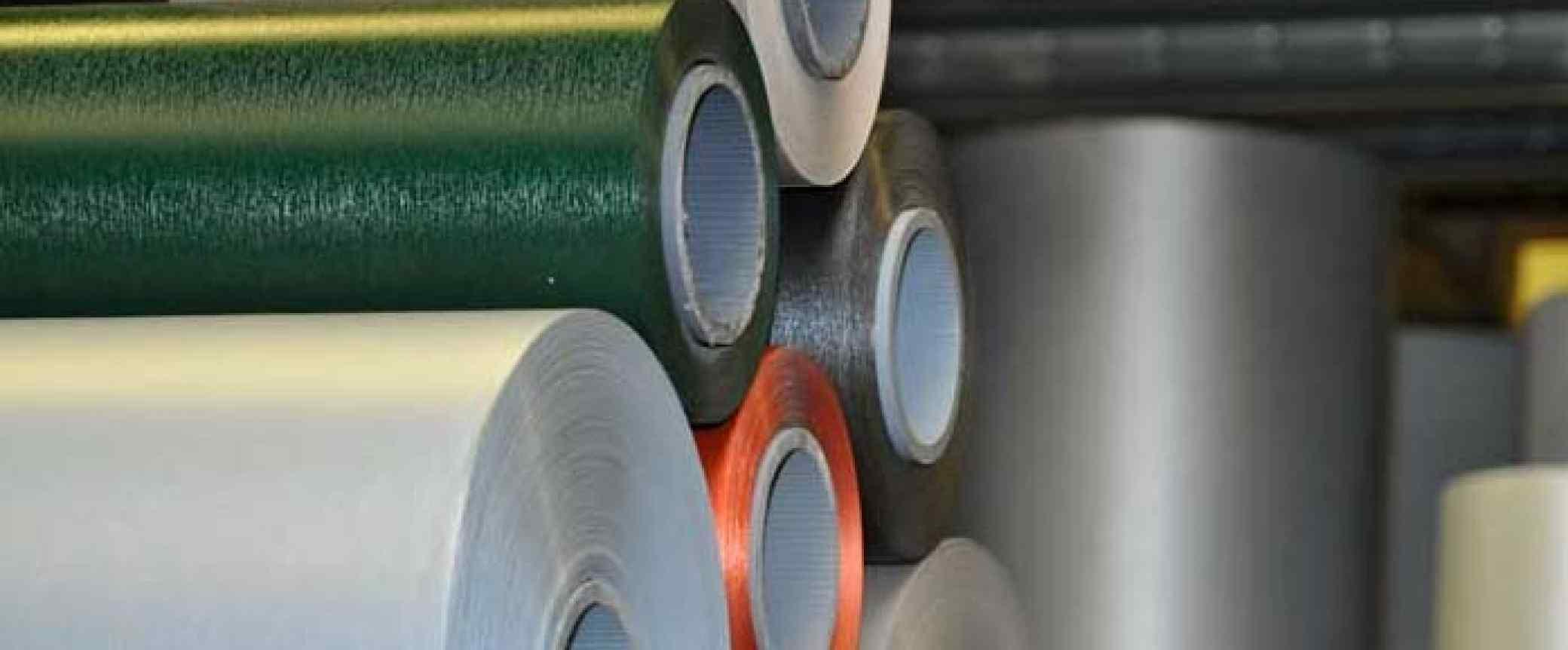 PVC logu un durvju profilu sistēmu laminēšana